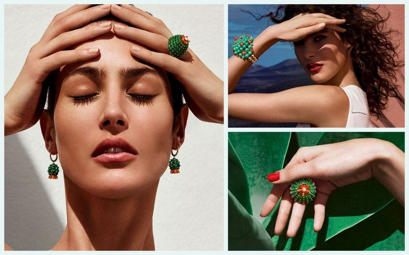 Cartier Cactus collection Jewelry2016 in jewelry highlights