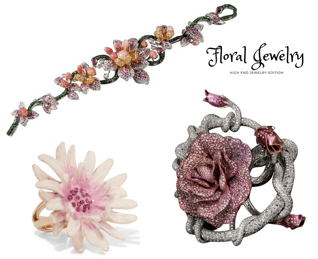 Floral Jewelry, high-end jewelry wonders of nature