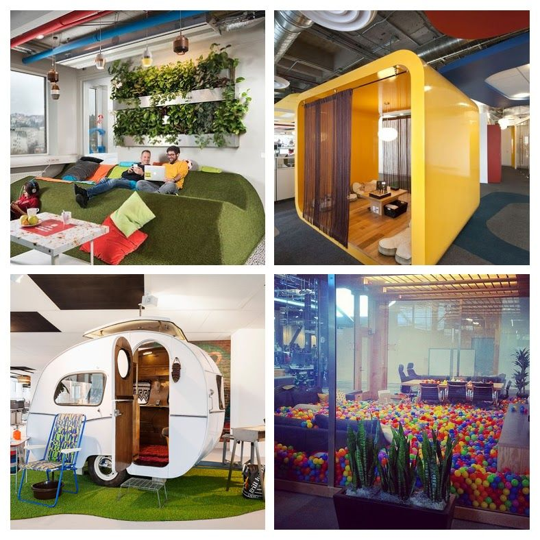 Google Office Budapest COLLAGE