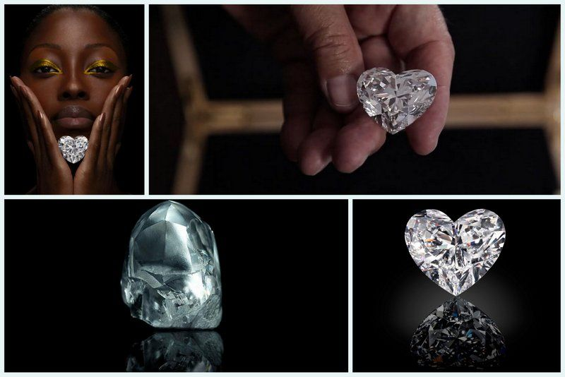 Graff Heart diamond largest 2016 in jewelry highlights2