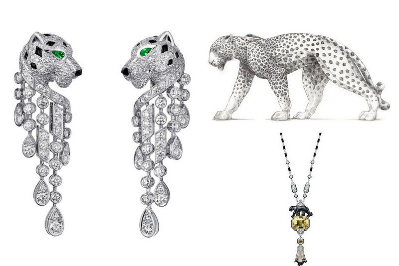 Panther Collection CartierJewelry