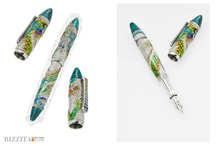 Urso luxury Pens collection Dragon 1