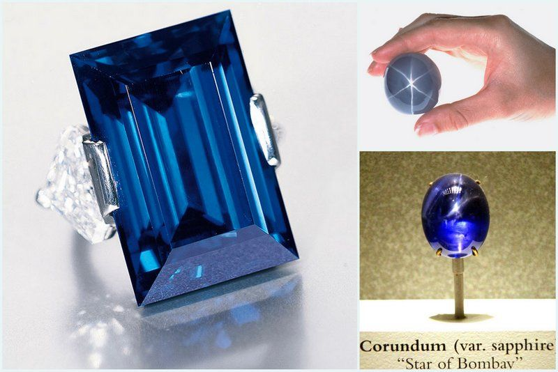 Facts About Sapphire Famous Stones Rockefeller Star of India Star of Bombay