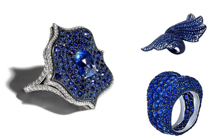 Facts about Sapphire Bayco Fabergé Chopard ring