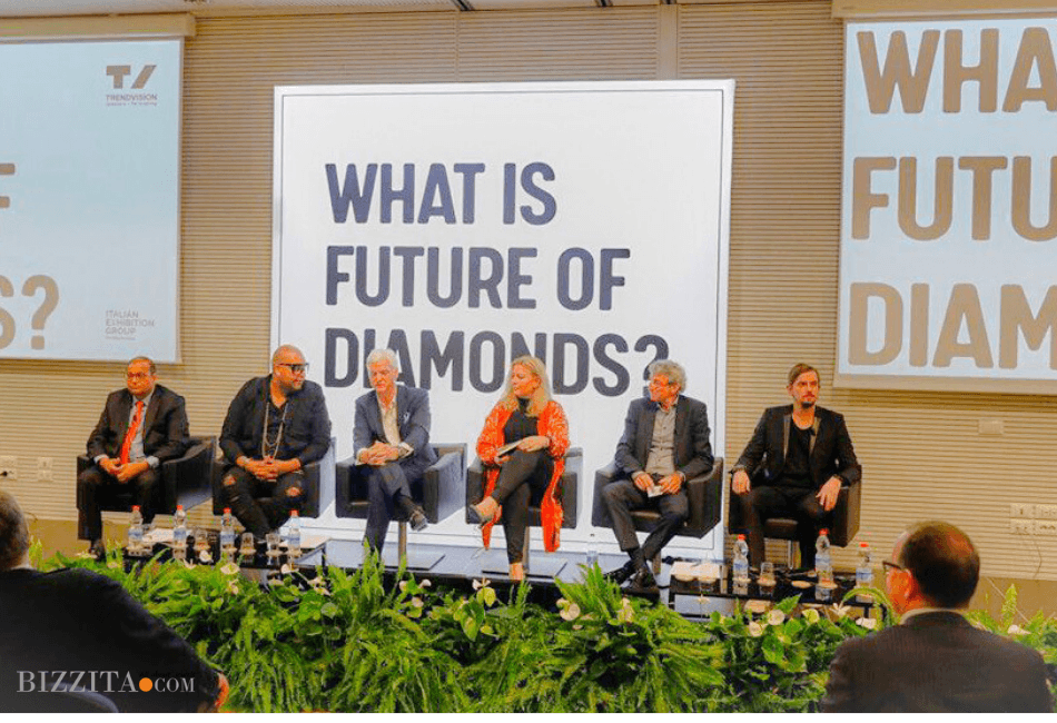 Future Diamonds Trendvision Esther Ligthart Bizzita DeBeers Madestones David Borugh Jewellery Outlook