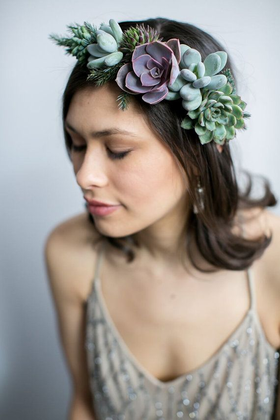 Passion flowermade jewelry crown