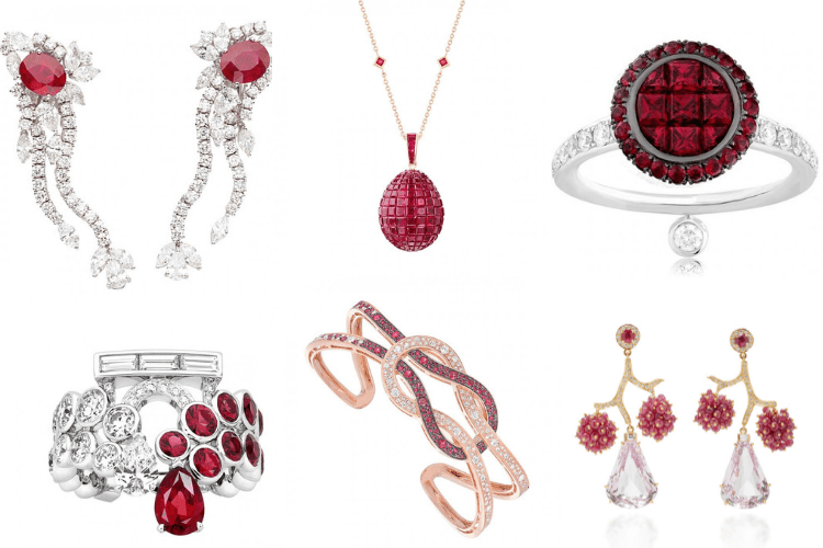 Red Jewelry louis Vuitton Faberge