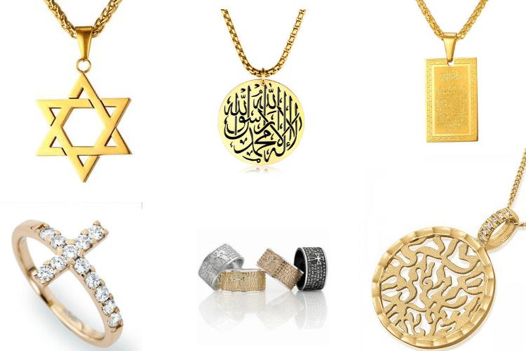 Modest fashion religious jewelry