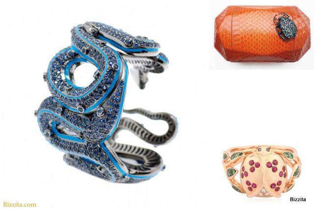 Animal jewelry Bizzita Matthew Campbell Laurenza Snakescarab Aurelie Biederman