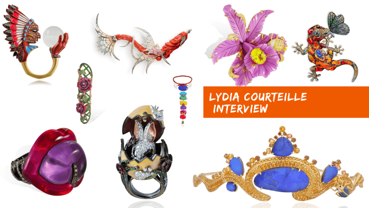Lydia Courteille and her amazing jewelry