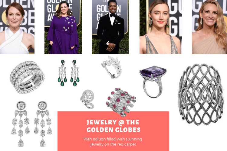 The Best Jewelry at the Golden Globes 2019