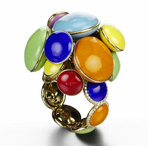 Suzanne Syz Smarties ring