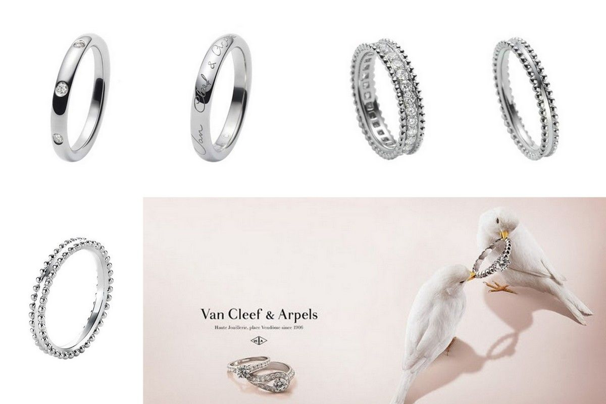VanCleef Arpels wedding ring