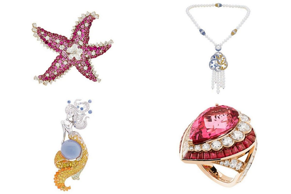 VanCleef arpels Seven seas jewelry collection