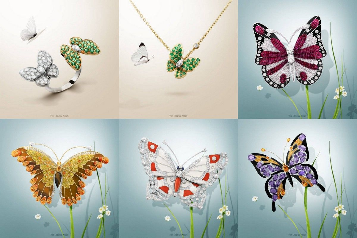Van Cleef arpels butterfly jewelry