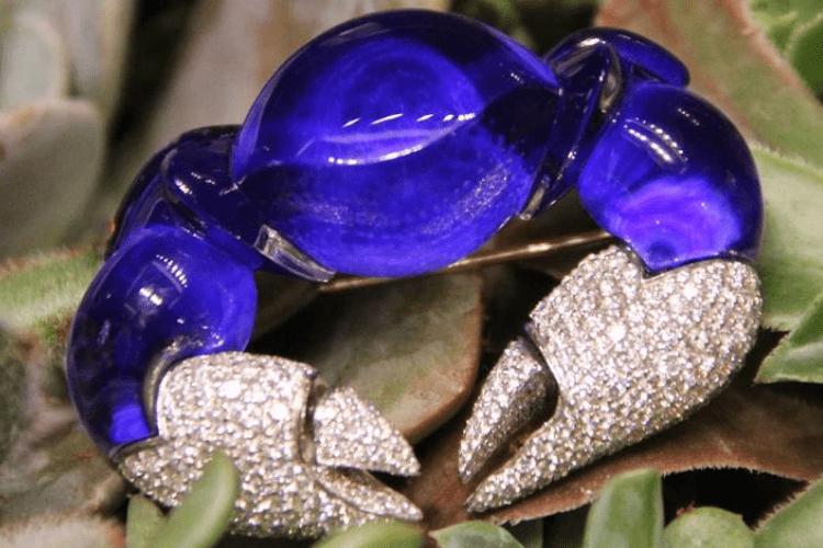 14.Vhernier jewelry crab