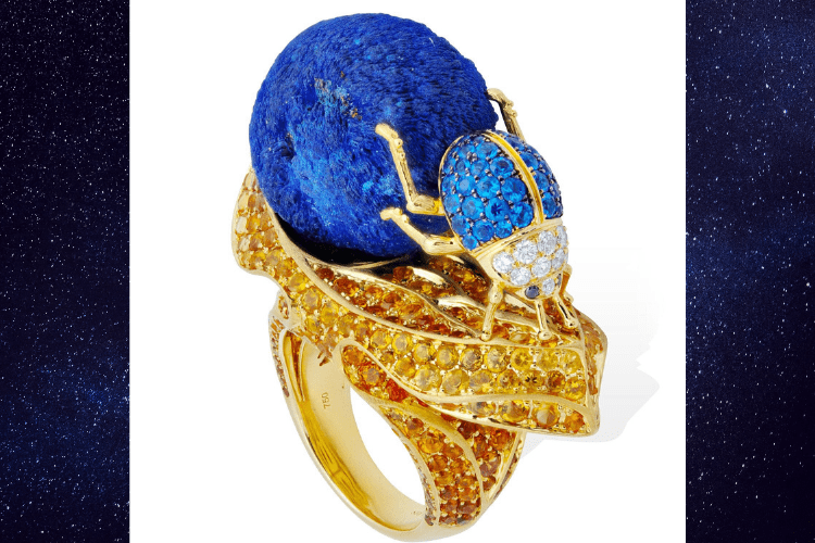 17.Lydia Courteille Dung Beetle animal Jewelry