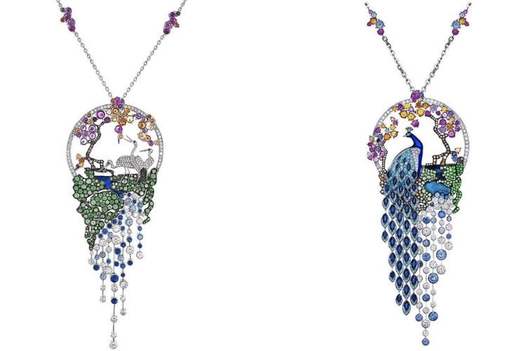27.Gilan jewelry Pendantnecklaceanimalpeacockbird