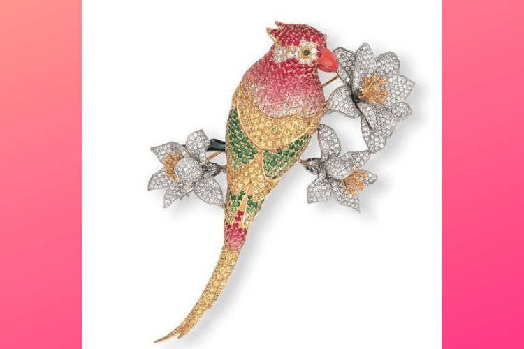 28.AngevinJewelry bird animalparrot