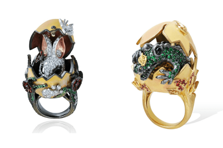 4.Lydia Courteille Ring animalJewelry