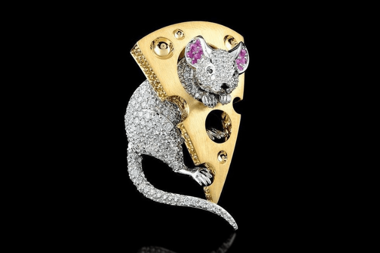 9. MasterExclusive Jewelry ring mouse