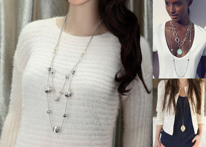 howtowearlongnecklaces fashion style