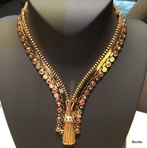 VanCleefArpelsZipper Necklace