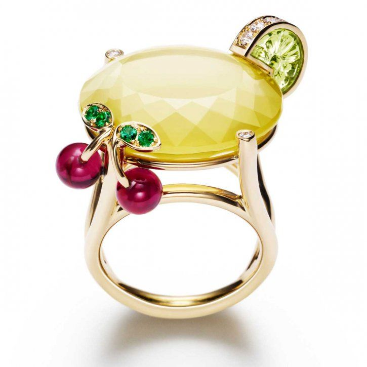 Piaget Ring Limelight Cocktail Ring
