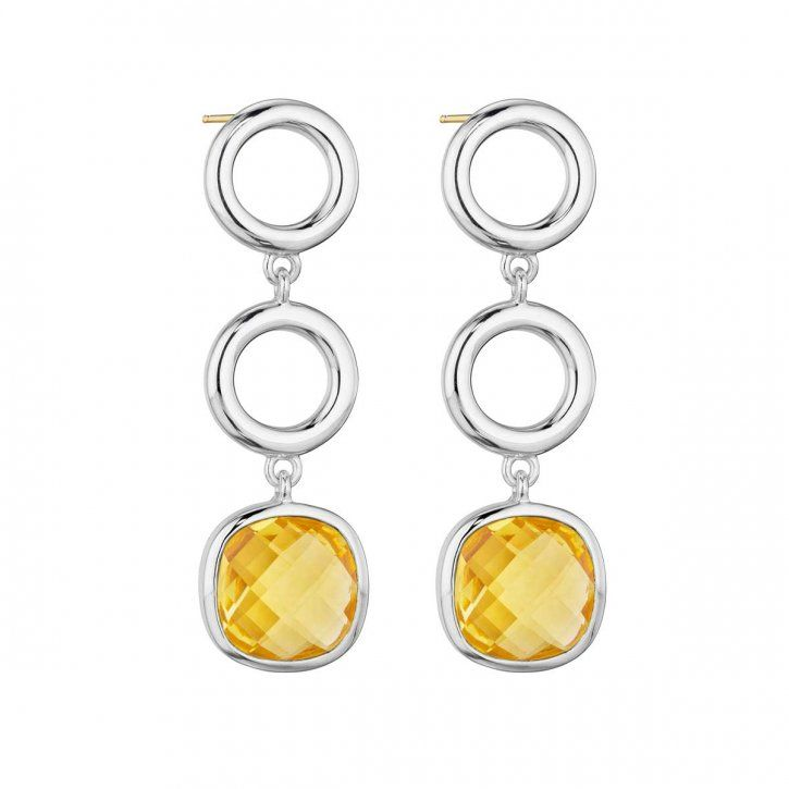 Thistle and Bee Etoiles Collection Earring