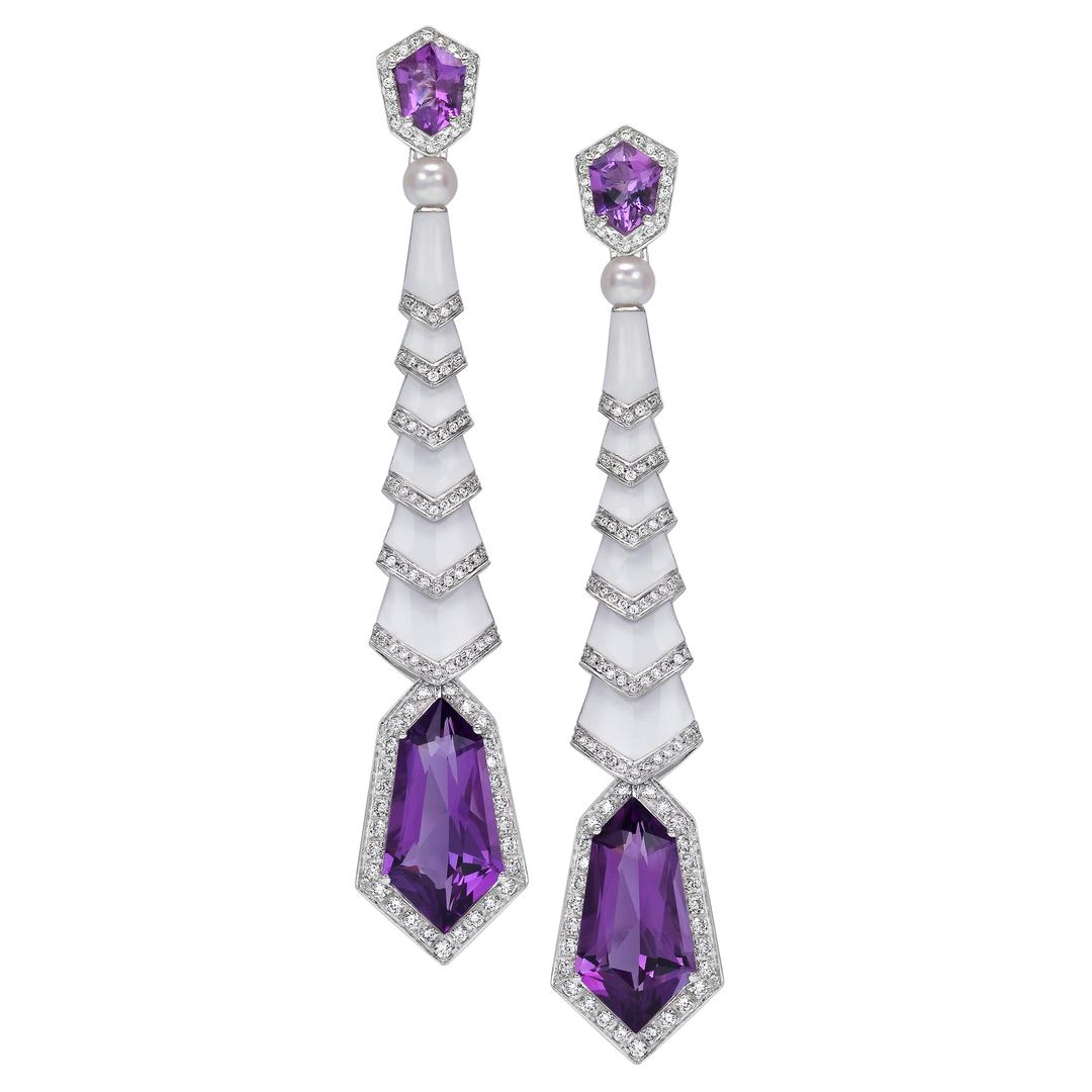 AvakianEarrings jewelrypurple