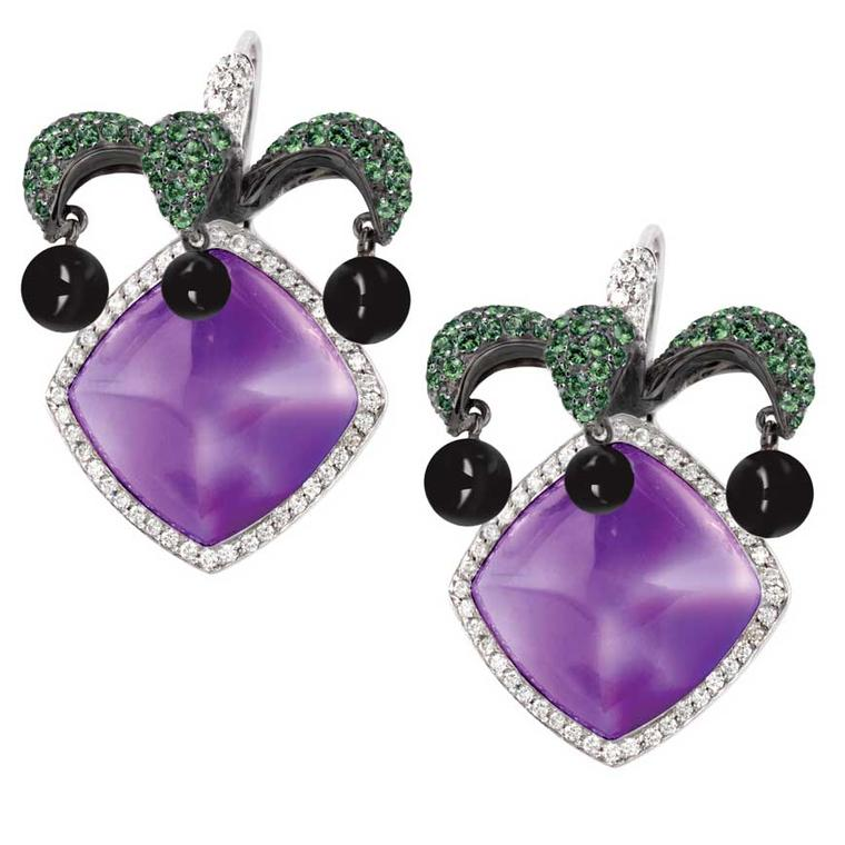 Avakian Joker Collection earrings