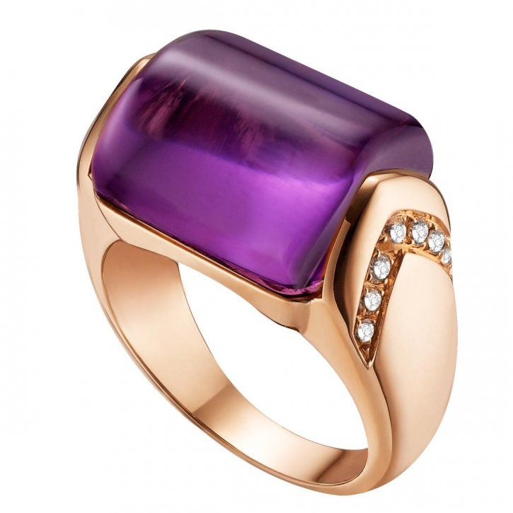 Bulgari amethyst ring