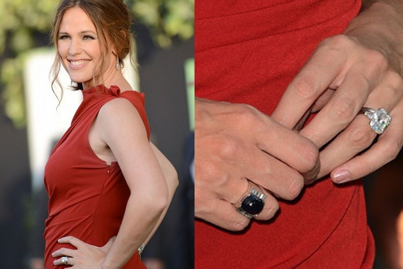 Engagement ring Harry winston Jennifer Garner