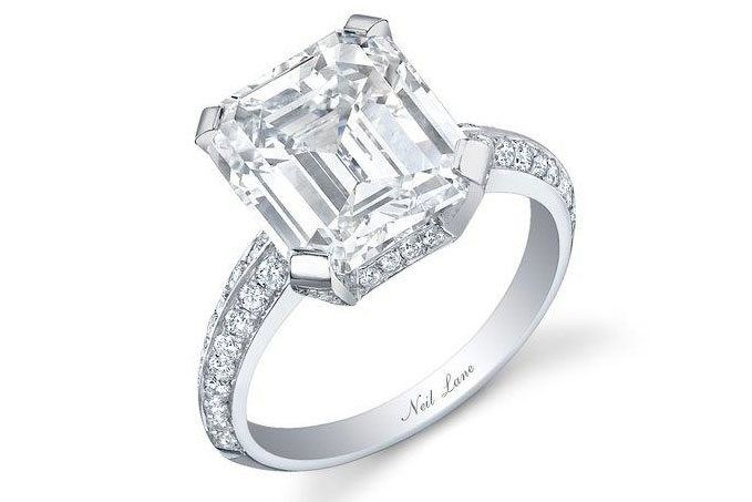 Engagement ring Neil Lane Assher