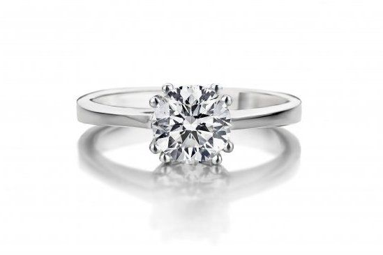 Engagement ring diamond Gassan