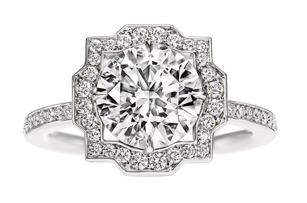 Engagement ring diamond Harry Winston