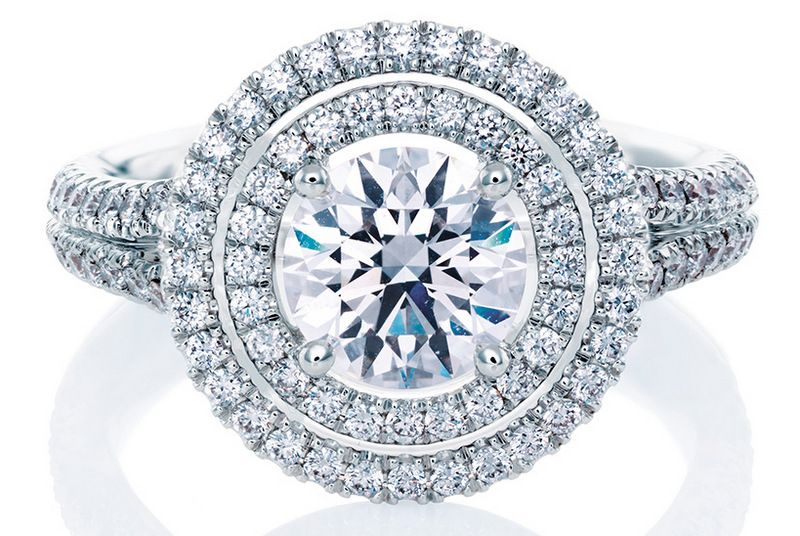 Engagement ring diamond VanCleefandArpels