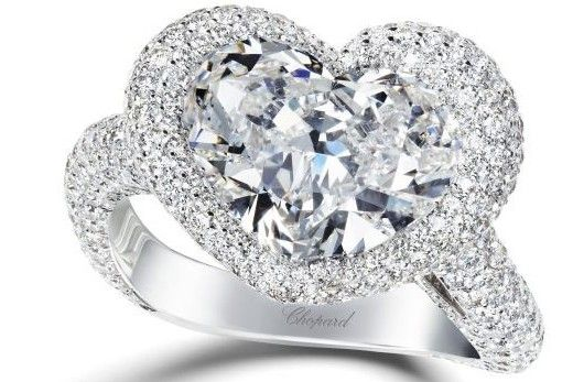 Engagement ring diamond heart chopard1