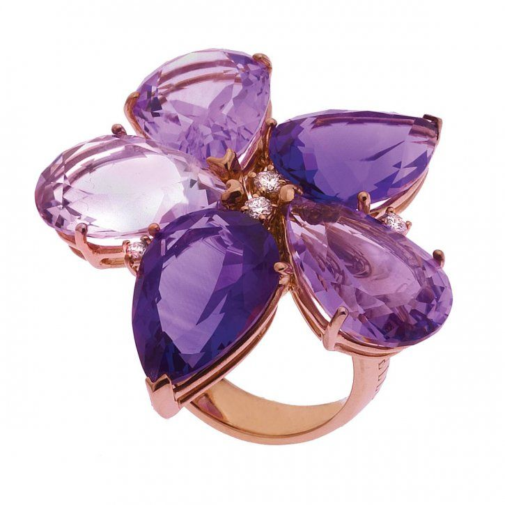 Gavello ring Amethyst