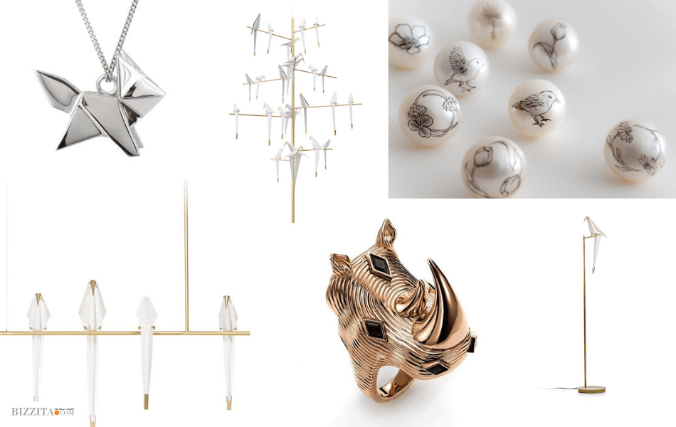 9.Jewelry and Interior Designs IdeasPerch tree Moooi UMUT YAMAC Korat Works MattioliWolfand badger