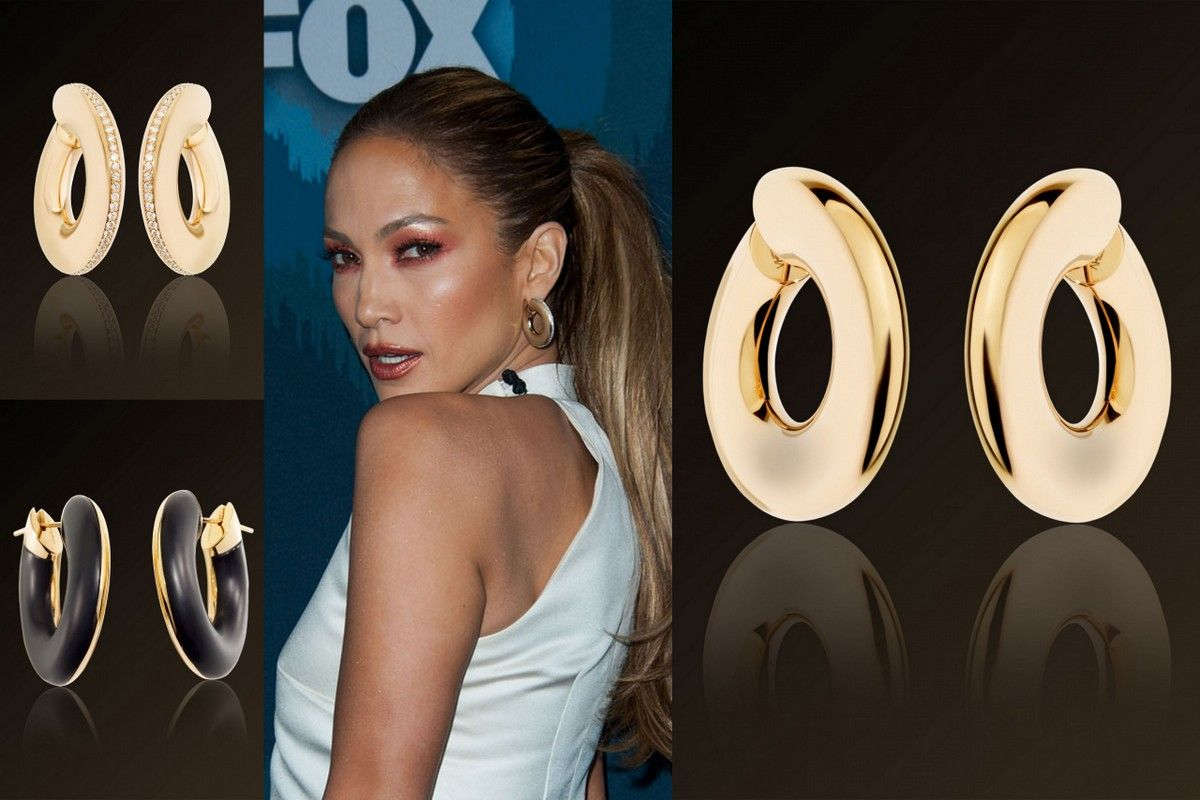 Jennifer Lopez jewelry Vhernier earrings