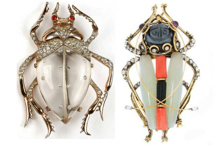 JewelryBugsBeetles must seefairytale IradjiMoiniTrifari
