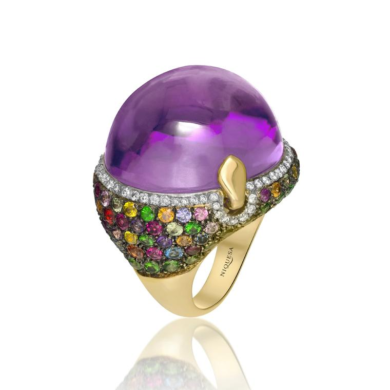 Niquesa ring amethyst
