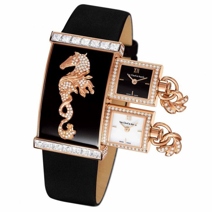 Sea theme jewelry watch VanCleefArpels