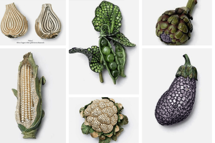 Vegetable Jewelry Hemmerle