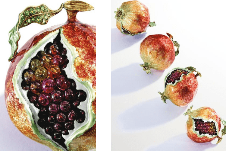 Vegetable Verdura Pomegranade