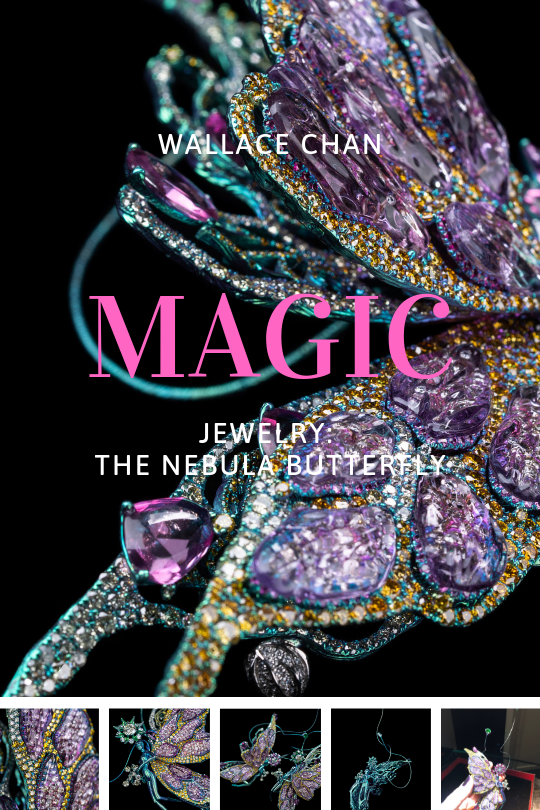 Wallace Chan latest and most magical jewelry