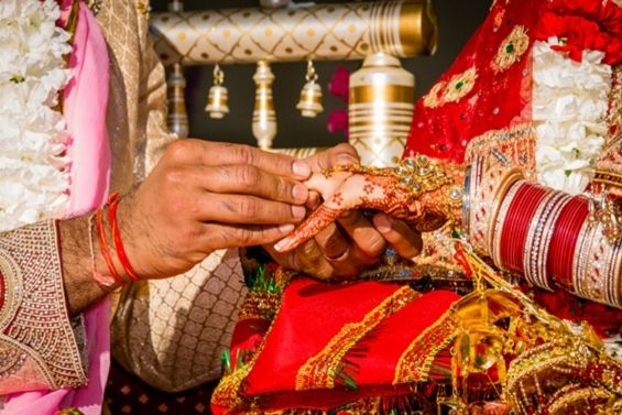 are wedding rings just big business - Wedding Ring Ceremony
