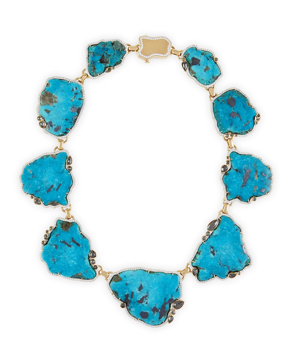 pamela huizenga 18k gold turquoise necklace with diamonds product 1 170937415 normal