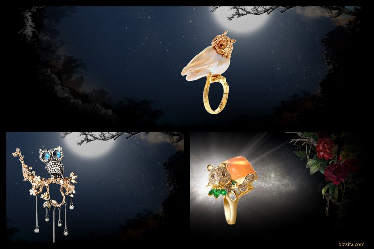 Forever jewels jewelry Owl mouse animal